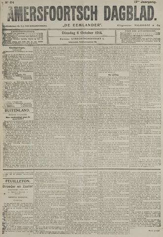 Amersfoortsch Dagblad / De Eemlander 1914-10-06