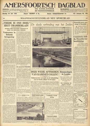 Amersfoortsch Dagblad / De Eemlander 1939-06-26