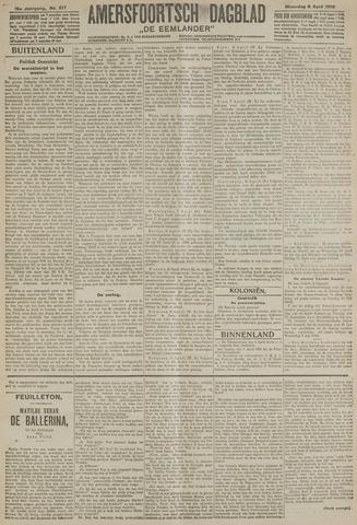 Amersfoortsch Dagblad / De Eemlander 1918-04-08