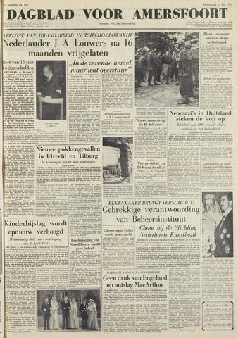 Dagblad voor Amersfoort 1951-05-10
