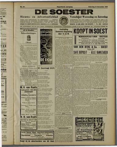 De Soester 1931-11-21