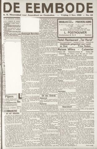 De Eembode 1922-11-03