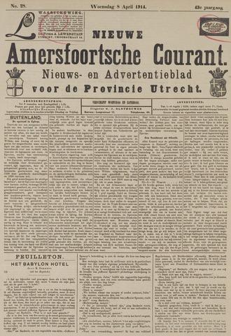 Nieuwe Amersfoortsche Courant 1914-04-08