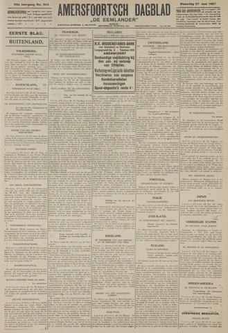 Amersfoortsch Dagblad / De Eemlander 1927-06-27