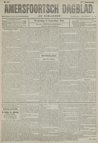 Amersfoortsch Dagblad / De Eemlander 1913-09-17