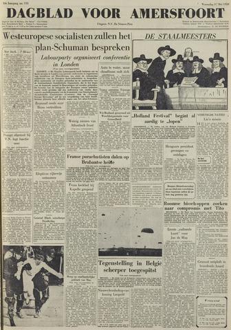 Dagblad voor Amersfoort 1950-05-17