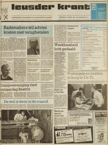 Leusder Krant 1989-01-25
