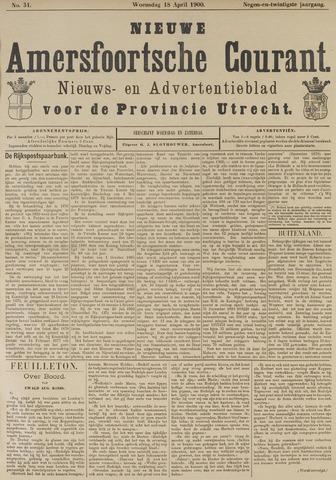 Nieuwe Amersfoortsche Courant 1900-04-18