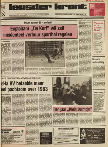 Leusder Krant 1984-02-16