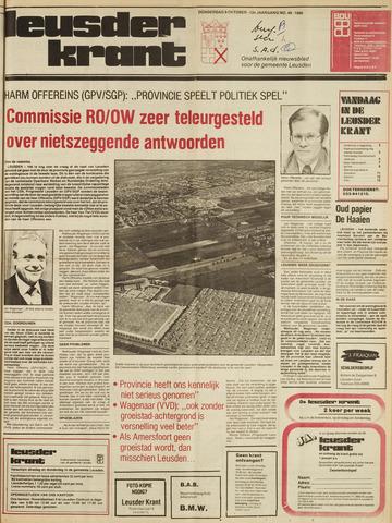 Leusder Krant 1980-10-09