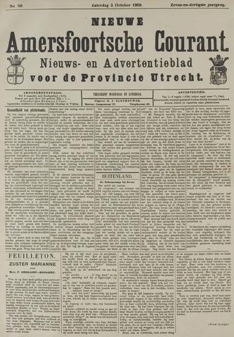 Nieuwe Amersfoortsche Courant 1908-10-03
