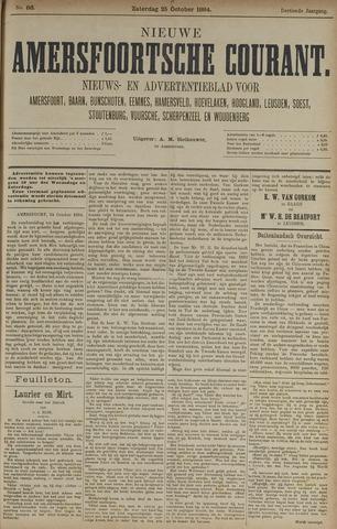 Nieuwe Amersfoortsche Courant 1884-10-25