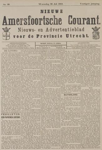 Nieuwe Amersfoortsche Courant 1911-07-26