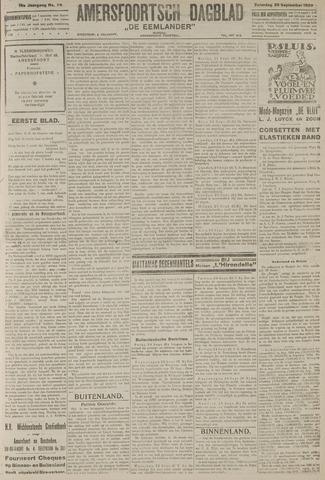 Amersfoortsch Dagblad / De Eemlander 1920-09-25