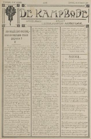 De Kampbode 1917-10-14