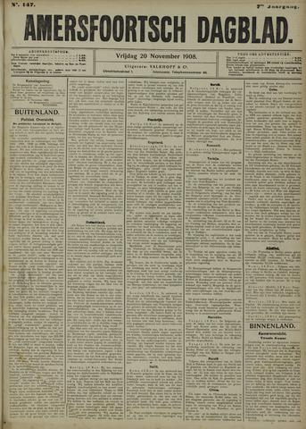 Amersfoortsch Dagblad 1908-11-20