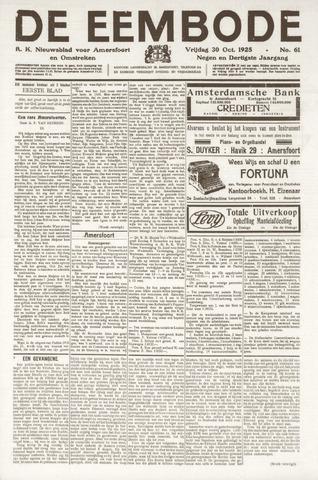 De Eembode 1925-10-30