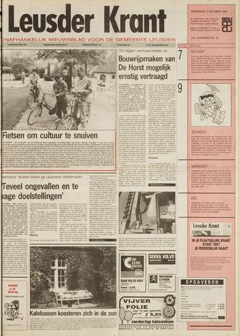 Leusder Krant 1992-10-07