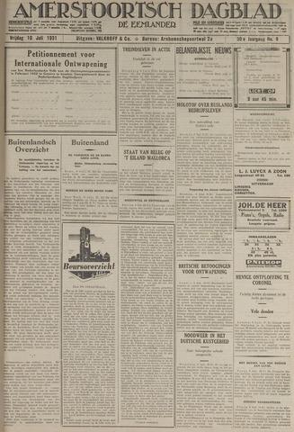 Amersfoortsch Dagblad / De Eemlander 1931-07-10