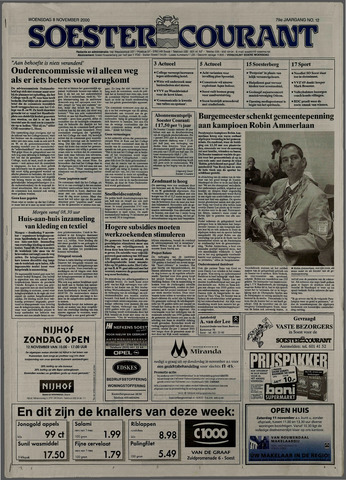 Soester Courant 2000-11-08