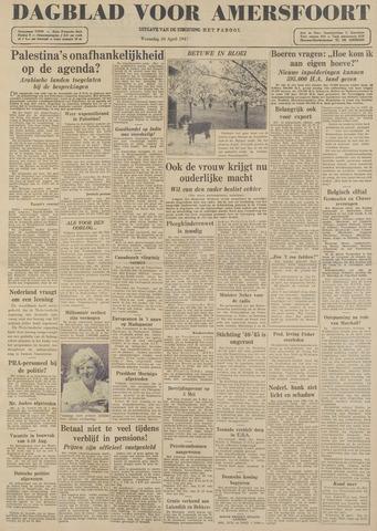 Dagblad voor Amersfoort 1947-04-30