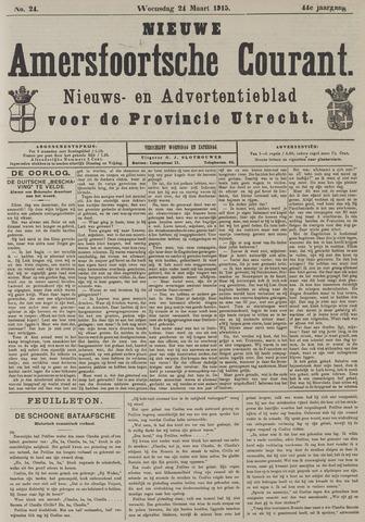 Nieuwe Amersfoortsche Courant 1915-03-24