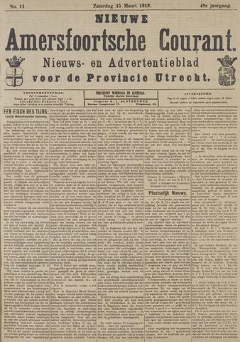 Nieuwe Amersfoortsche Courant 1919-03-15