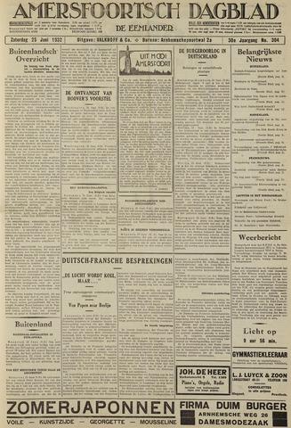 Amersfoortsch Dagblad / De Eemlander 1932-06-25