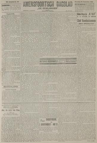 Amersfoortsch Dagblad / De Eemlander 1920-09-20