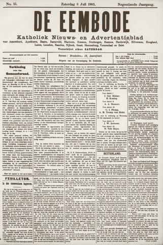 De Eembode 1905-07-08