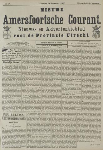 Nieuwe Amersfoortsche Courant 1907-09-14
