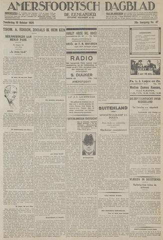 Amersfoortsch Dagblad / De Eemlander 1929-10-10