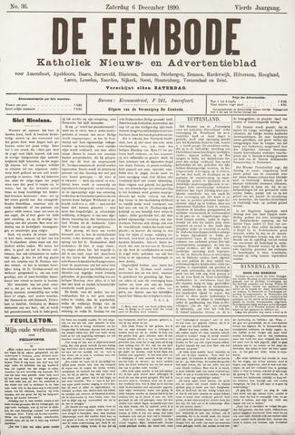 De Eembode 1890-12-06