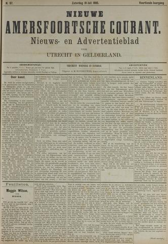 Nieuwe Amersfoortsche Courant 1885-07-18