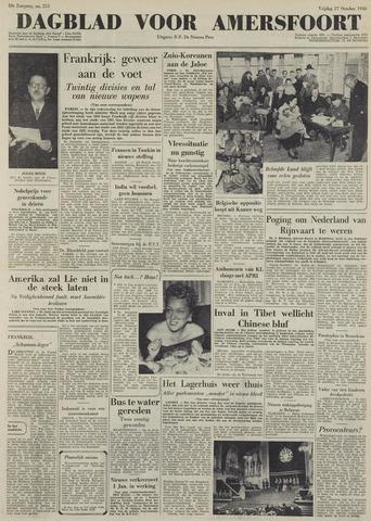 Dagblad voor Amersfoort 1950-10-27