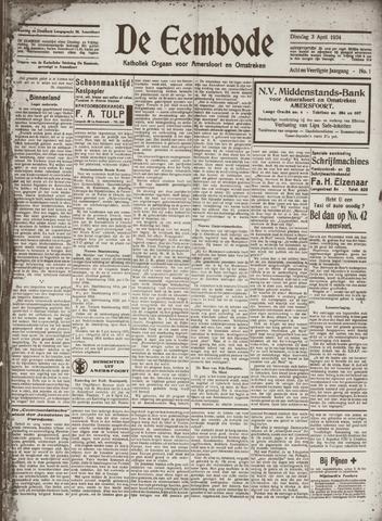 De Eembode 1934-04-03