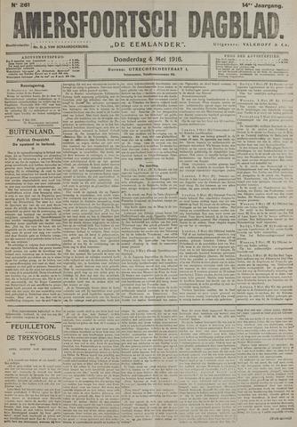 Amersfoortsch Dagblad / De Eemlander 1916-05-04