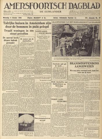Amersfoortsch Dagblad / De Eemlander 1940-10-09