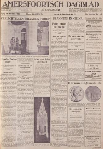 Amersfoortsch Dagblad / De Eemlander 1936-12-18