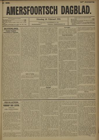 Amersfoortsch Dagblad 1912-02-20