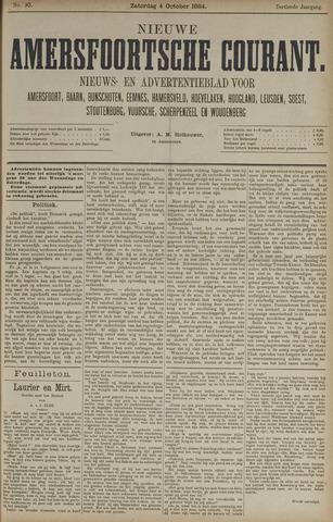 Nieuwe Amersfoortsche Courant 1884-10-04