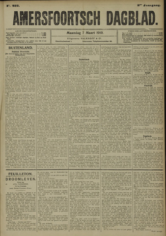 Amersfoortsch Dagblad 1910-03-07