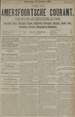 Nieuwe Amersfoortsche Courant 1881-10-19