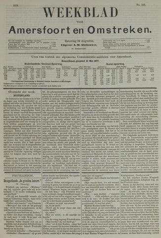 Weekblad voor Amersfoort en Omstreken 1878-08-24