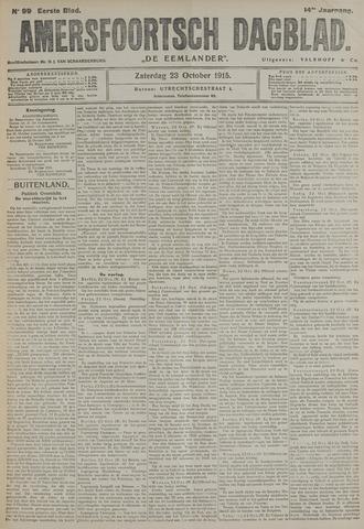 Amersfoortsch Dagblad / De Eemlander 1915-10-23