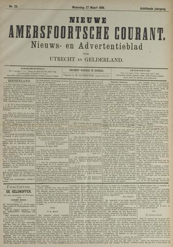 Nieuwe Amersfoortsche Courant 1889-03-27