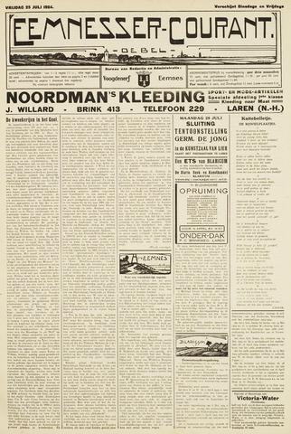 Eemnesser Courant 1924-07-25