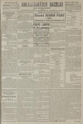 Amersfoortsch Dagblad / De Eemlander 1925-03-16