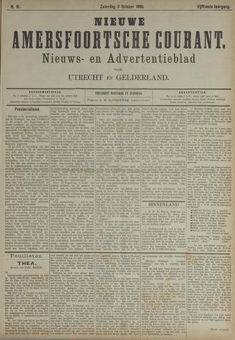 Nieuwe Amersfoortsche Courant 1886-10-09