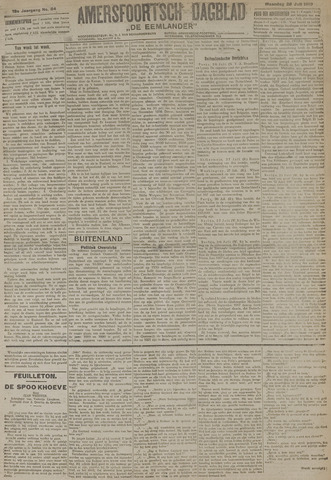 Amersfoortsch Dagblad / De Eemlander 1919-07-28